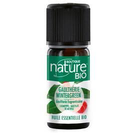 Huile essentielle de Gaulthérie wintergreen - Boutique Nature - Santé - Massage et détente