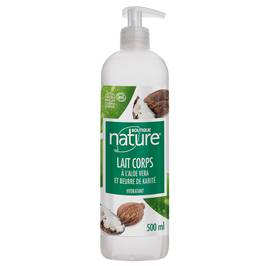 Lait Corps à l'Aloe vera et Beurre de karité - Boutique Nature - Corps