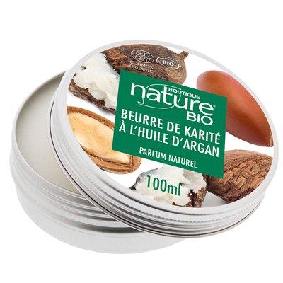 Beurre de karité argan - Boutique Nature - Santé - Visage - Cheveux - Corps