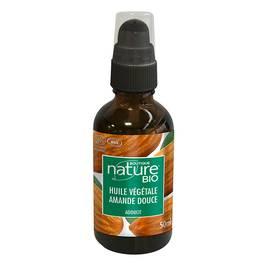 Huile végétale amande douce - Boutique Nature - Massage et détente