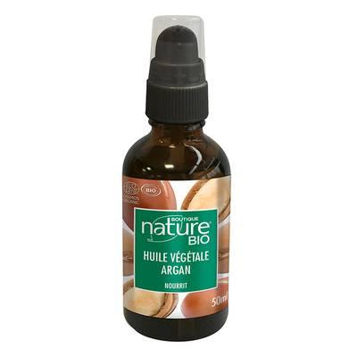 Huile végétale Argan - Boutique Nature - Massage et détente - Corps