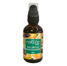Huile végétale noyaux d'abricot - Boutique Nature - Massage et détente