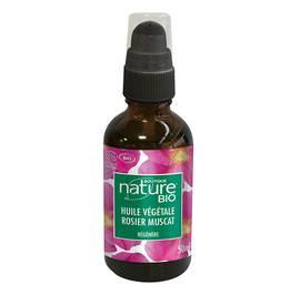 Huile végétale rosier muscat - Boutique Nature - Massage et détente