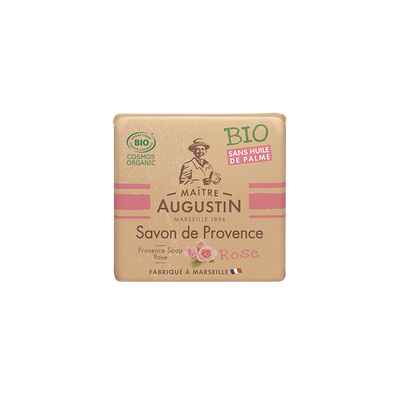 Savon de Provence Rose - Maître Augustin - Hygiène