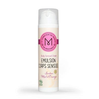 Emulsion Corps Sensuel - Senteur Miel d'Oranger - Le Comptoir de Manon en Provence - Corps