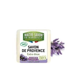 Organic lavender soap 100g  - Maître Savon - Hygiene