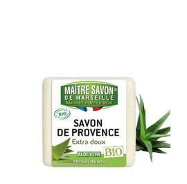 Organic Aloe Vera Soap 100g - Maître Savon - Hygiene
