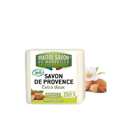 Organic almond soap 100g  - Maître Savon - Hygiene