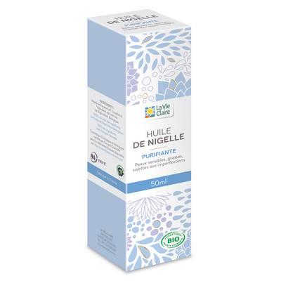 Huile végétale nigelle - LA VIE CLAIRE - Massage and relaxation