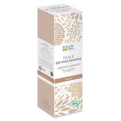 Huile végétale macadamia - LA VIE CLAIRE - Massage and relaxation