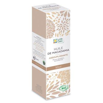 Huile végétale macadamia - LA VIE CLAIRE - Massage et détente