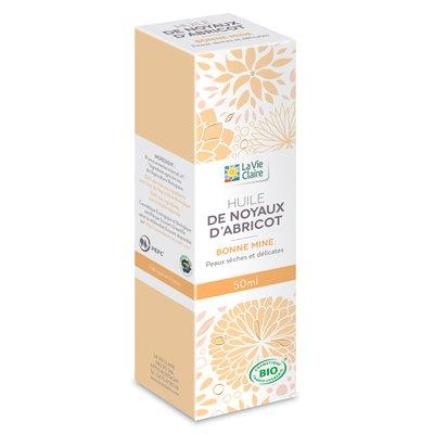 Huile végétale noyaux d'abricot - LA VIE CLAIRE - Massage et détente