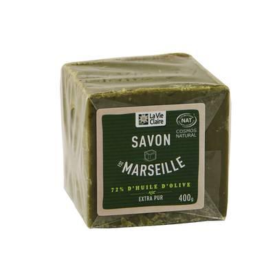Savon de Marseille 72% d'huile d'olive - LA VIE CLAIRE - Hygiène