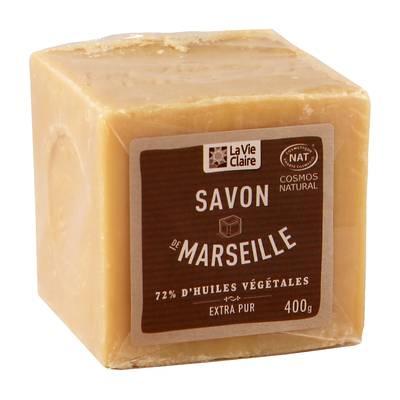 Savon de Marseille 72% d'huiles végétale - LA VIE CLAIRE - Hygiene