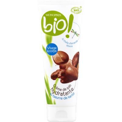 Crème beurre de karité - Monoprix Bio - Visage