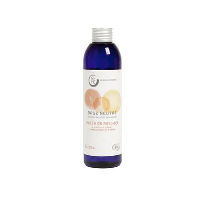 Silky massage oil Neutral basis - Nature & Découvertes - Massage and relaxation