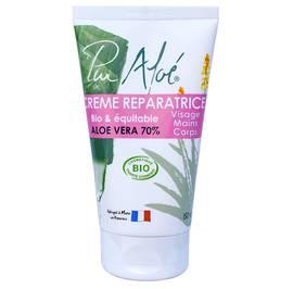 Repairing Cream - Aloe Vera 70% - Pur'Aloé - Body