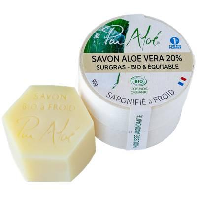 Savon saponifié à froid - 20% Aloé Vera - Pur'Aloé - Corps - Hygiène