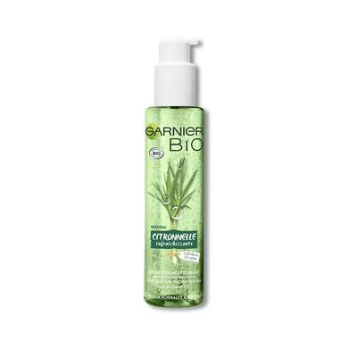 FRESH LEMONGRASS DETOX GEL WASH - Garnier Bio - Face