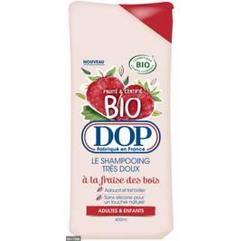 Shampoing cheveux normaux à ternes à la fraise - DOP Shampoing - Cheveux