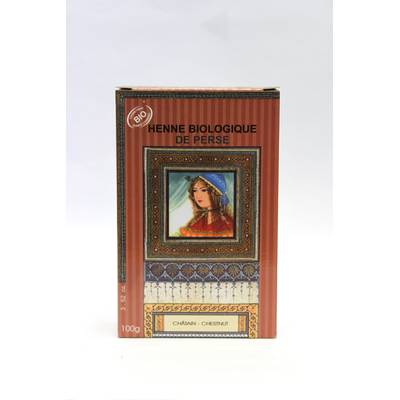 Henné Chataîn - Nomade Palize - Cheveux