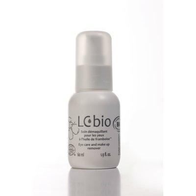 Soin démaquillant pour les yeux à l'huile de framboise - Huile démaquillante yeux - LCbio - Visage