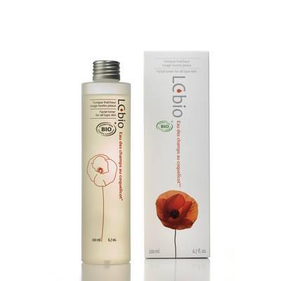 Eau des champs au coquelicot (Poppy Flower water) - Freshness toner - LCbio - Face