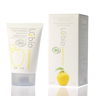 Coing de douceur (Gentle Quince) - Mattifying, treating and beautifying cream for young or mixed to oily skin - LCbio - Face