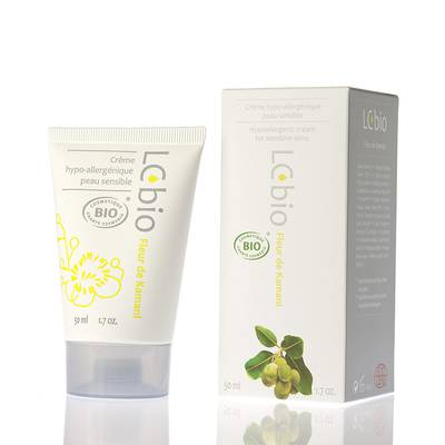Fleur de Kamani - Protective cream for sensitive skin - LCbio - Face