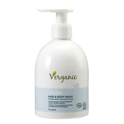 BeBe HAIR & BODY WASH - Verganic - Baby / Children