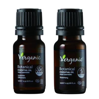 Botanical ESSENTIAL OILS - Verganic - Massage and relaxation