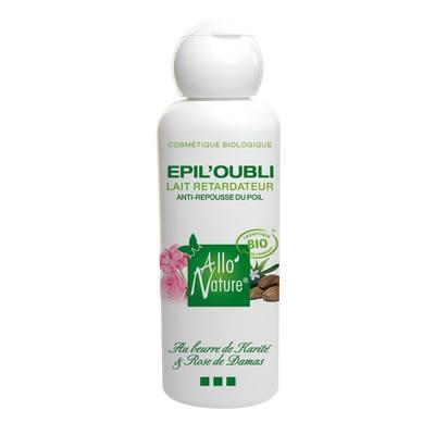 Epil'oubli : organic anti hairs regrowth body milk, - Allo'Nature - Body - Hygiene