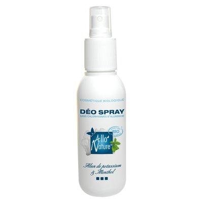 Déodorant spray bio à l'alun de potassium - Allo'Nature - Hygiène