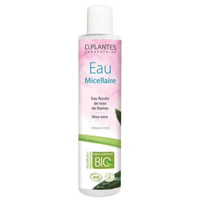 EAU MICELLAIRE - d.plantes  - Face