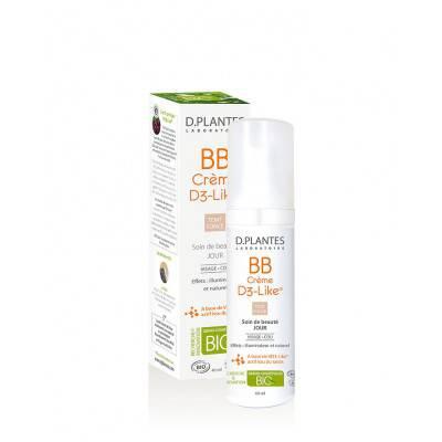 BB crème D3-Like teint clair ou foncé - d.plantes  - Visage