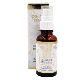 Huile-Elixir Jeunesse Intense pour peau mature ou stressée par la pollution - BELLE OEMINE BIO - Visage