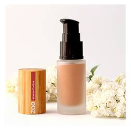 Soie de teint - Fluid foundation - ZAO Make up - Make-Up