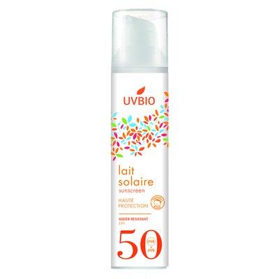 Lait solaire SPF 50 - UVBIO - Solaires
