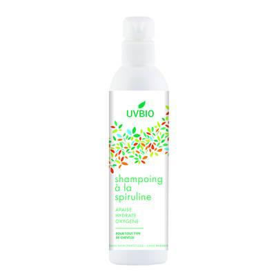 Shampoing à la spiruline - UVBIO - Cheveux