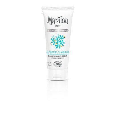 Gel Crème Clarifiant aux actifs marins - Marilou Bio - Visage
