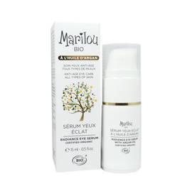Sérum yeux éclat à l'huile d'argan - Marilou Bio - Visage