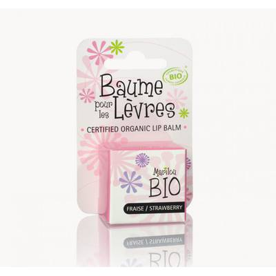 STRAWBERRY SCENTED LIP BALM - Marilou Bio - Face