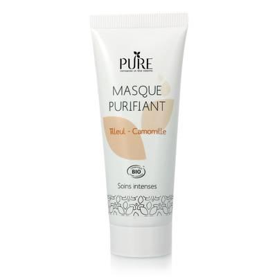 Masque purifiant tilleul-camomille - PURE - Visage