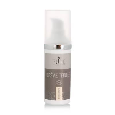 Crème teintée - beige naturel - PURE - Maquillage
