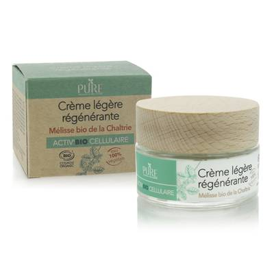Crème légère régénérante - PURE - Visage