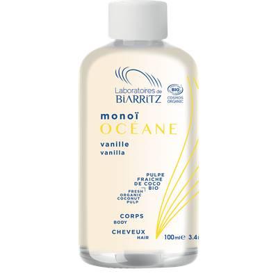 Monoï Vanille des Îles OCÉANE - LABORATOIRES DE BIARRITZ - Corps - Cheveux
