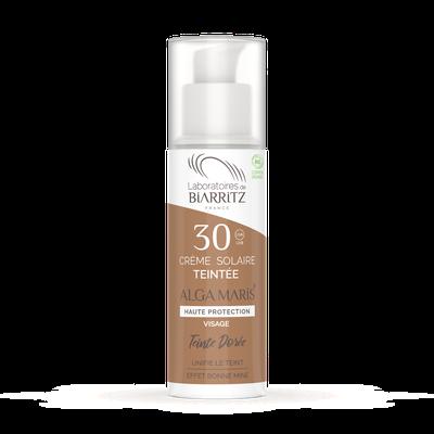 ALGA MARIS® SPF30 Gold Tinted Face Sunscreen - LABORATOIRES DE BIARRITZ - Sun