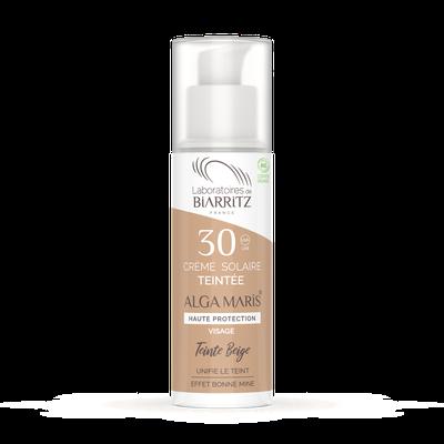 ALGA MARIS® SPF30 Beige Tinted Face Sunscreen - LABORATOIRES DE BIARRITZ - Sun