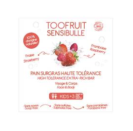 image produit Sensibulle dermatological bar strawberry raspberry