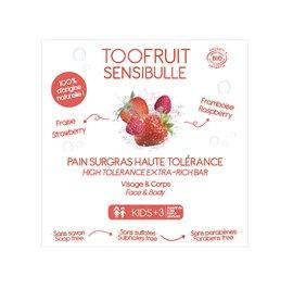 Sensibulle Dermatological Bar Strawberry Raspberry - TOOFRUIT - Face - Hygiene - Baby / Children